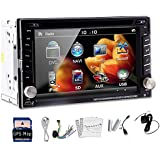Hot Selling ! Standard 6.2'' Car PC GPS 2Din Car DVD Player BT Car Stereo Audio IPod Auto Vehicle Radio Android...
