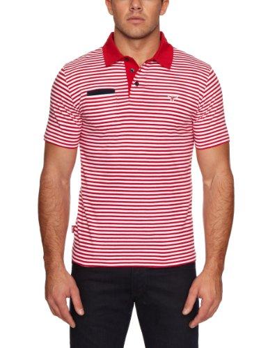 Le Breve Anytime Stripe Polo Men's T-Shirt