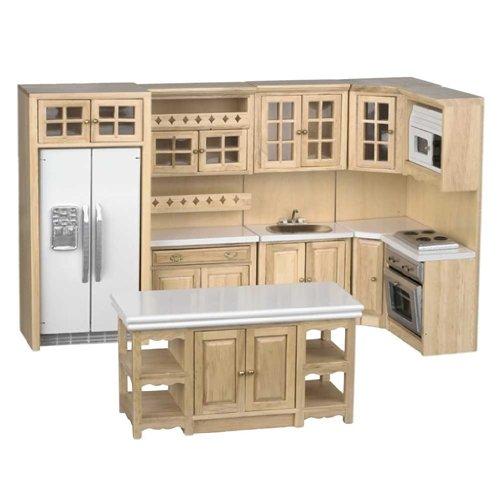 Dollhouse Miniature 6-Pc. Stafford Kitchen Set