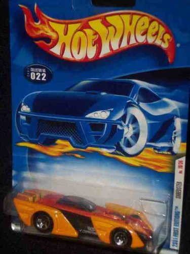 2001 First Editions -#10 Shredster 5-spoke #2001-22 Collectible Collector Car Mattel Hot Wheels 1:64 Scale