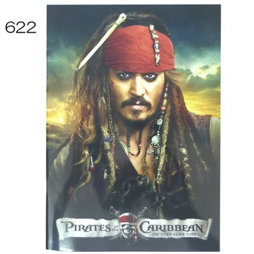 izumi-b5-notes-aig-622-of-the-pirates-of-the-caribbean-life-japan-import