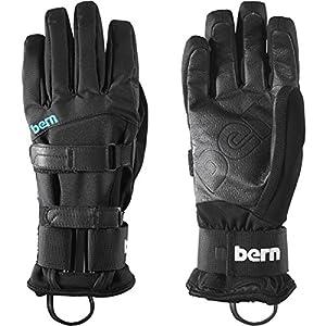 Bern Syntatic Gloves - Removeable Wrist Guard Gloves - Women - S-M - Black
