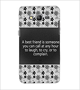 PrintDhaba Quote D-4681 Back Case Cover for SAMSUNG GALAXY GRAND PRIME (Multi-Coloured)