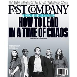 Fast Company (1-year auto-renewal) [Print + Kindle]