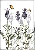 Creative Tops Royal Botanic Garden Kew Lavender Cotton Tea Towel Dish Cloth, Multi-Colour