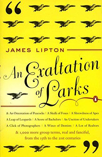 An Exaltation of Larks: The Ultimate Edition [Lipton, James] (Tapa Blanda)