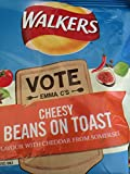 6 pack of Walkers cheesy Beans on Toast Crisps