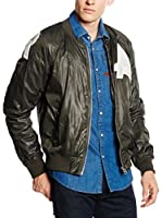G-Star Chaqueta Afrojack Bomber (Gris Oscuro)