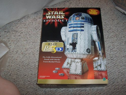 Cheap milton bradley Star Wars Episode 1 R2-D2 Puzz 3D (B000UI2RQC)