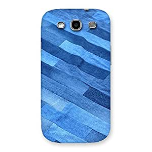 Denim Sheet Print Back Case Cover for Galaxy S3 Neo