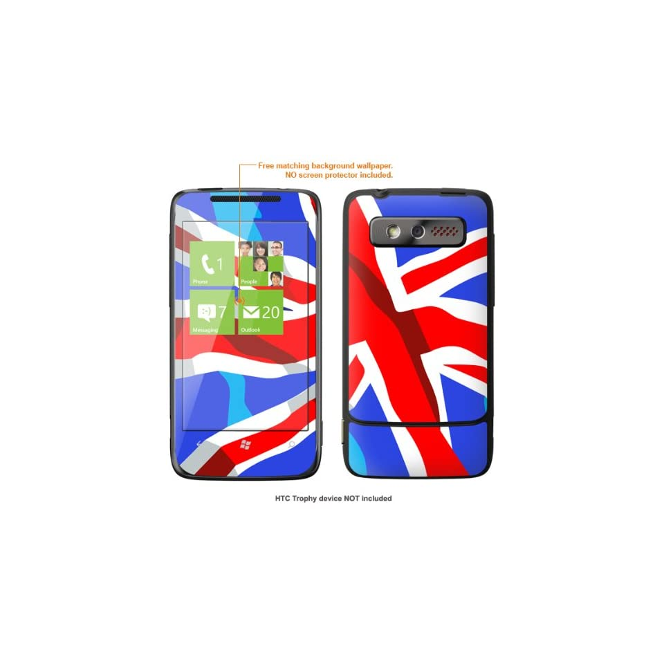 Protective Decal Skin STICKER for HTC 7 Trophy T8686 case cover Trophy 548