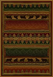 "United Weavers Bearwalk Rug 5'3"" X 7'6"""