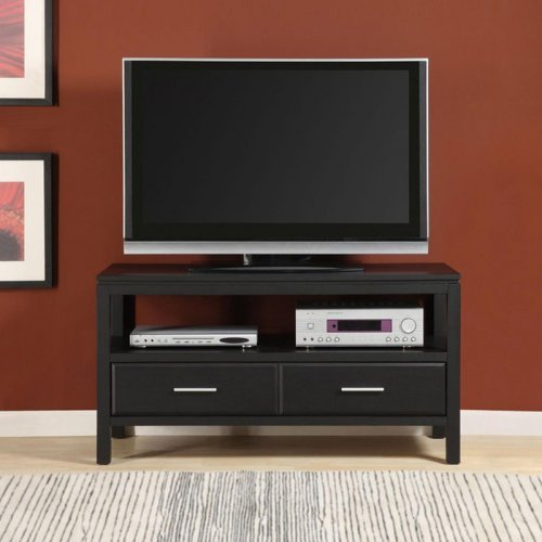 Altra Tv Stands Ameriwood 50 Inch Tv Stand In Black Material Wood