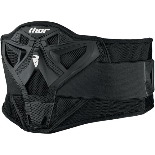 Thor  MX Sector Adult Kidney Belt MX Motorcycle Body Armor - Black / One Size
