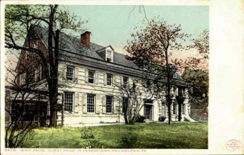 Wyck House, Germantown