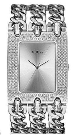 GUESS U12640L1 Brilliant Rocker Metal Watch