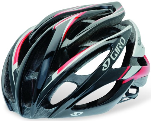 2013 Giro Amare Road Bike Cycle Helmet matt black white polka dot Medium 55-59cm