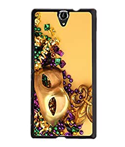 Crazymonk Premium Digital Printed Back Cover For Sony Xperia C5 Dual