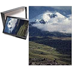 Image: Photo Jigsaw Puzzle of The snow capped Mount Chimborazo in Ecuador, South America, by Robert Harding
