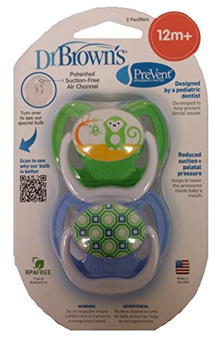 Dr. Brown'S Prevent Design Pacifier, Boys 12+ Months