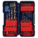 Bosch CO18 18-Piece Cobalt Twist Dril...