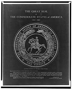 The Great Seal of the Confederate States of America,c1911,Man on horseback