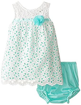 Amazon Rare Editions Baby Baby Girls White Aqua