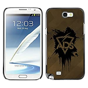 Hard Case or Cover for Samsung Galaxy Note 2 ADS Lightning case iphone