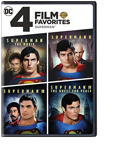 DVD : 4 Film Favorites: Superman (Widescreen, 2 Disc)