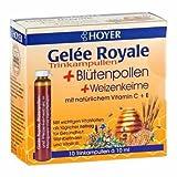 Hoyer Gelée Royale pollen remède 10x10ml