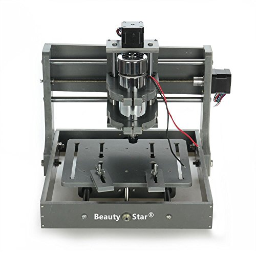 Konmison DIY CNC Router Kits Wood Carving Milling Engraving Machine 7x7 (110V/220V Optional, 3 Axis, 300w, 10000rpm) (Mini Cnc Machine compare prices)