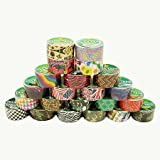 """Duck Brand 280735 Candy Cane Printed Duct Tape, 10 yards Length x 1-7/8"""" Width"""