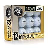 リンクスチョイス ボール タイトリストボール Used&Refinished タイトリストPRO V-1シリーズ リフィニッシュドゴルフボール by LINKS CHOICE 1ダース(12個入り) PROV1X