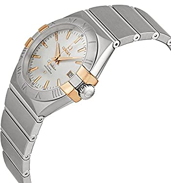 Omega Constellation Co-Axial Silver Dial Stainless Steel Ladies Watch 12320352002003