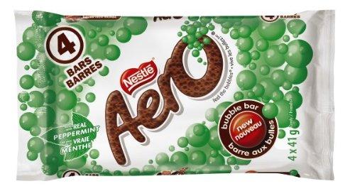 Aero Peppermint Chocolate, 4 x 41gm, Multipack