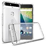 Nexus 6P Case, Spigen [Ultra Hybrid] AIR CUSHION [Crystal Clear] Clear back panel + TPU bumper for Nexus 6P (2015) - Crystal Clear (SGP11796)