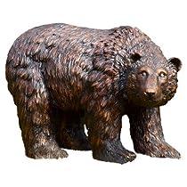 Big Sale SPI Home 50751 Rust Finish Garden Bear Sculpture