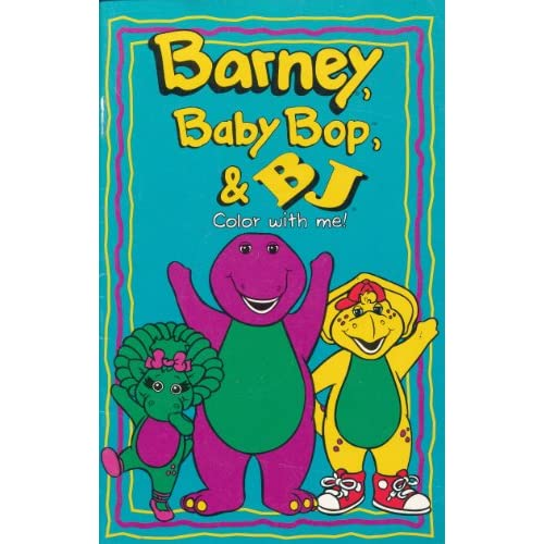 Barney, Baby Bop, & BJ: Color with Me!: Mary Ann Dudko, Patricia