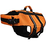 American Kennel Club Pet Flotation Life Vest - Orange L