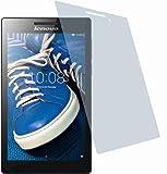 Lenovo Tab 2 A7-20 (2 Stück) KRATZFESTE PREMIUM Displayschutzfolie Bildschirmschutzfolie ANTIREFLEX mit RAKEL UND TUCH - KRATZFEST UND PASSGENAU