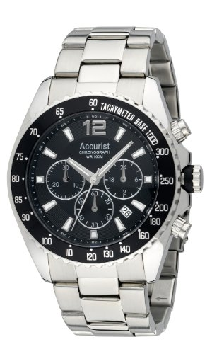 Accurist Men's MB936BB Chronograph Stainless Steel Bracelet Watch