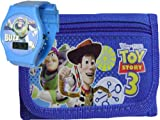 Toy Story Blue Wallet and LCD Watch for Kids