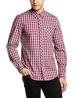 Ben Sherman Camisa Hombre MA11355 (Rojo)