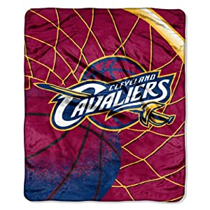 NBA Cleveland Cavaliers Raschel Plush Throw Blanket, Reflect Design by Northwest