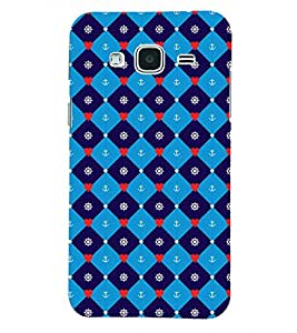 PRINTSHOPPII PATTREN Back Case Cover for Samsung Glaxy J3 New Edition (2016)