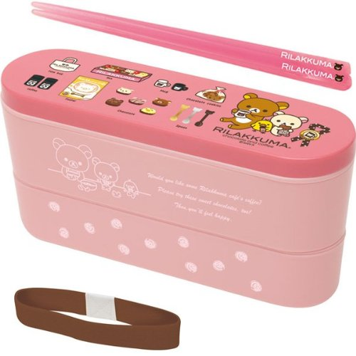 [Rilakkuma] bunk slim lunch box