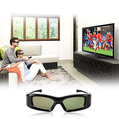 IR&BT 3D Aktiv Shutter Brille für Toshiba 40TL868 40TL868B 46TL868B 40TL963G 46TL963G 46TL966 46TL966G 40TL933 40TL933G 46TL933 46TL933G 40TL868G TL933 TL938G Sharp 3D TV