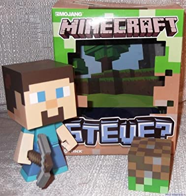 Minecraft Steve Limited Edition 6 Vinyl Figure In Collectors Box