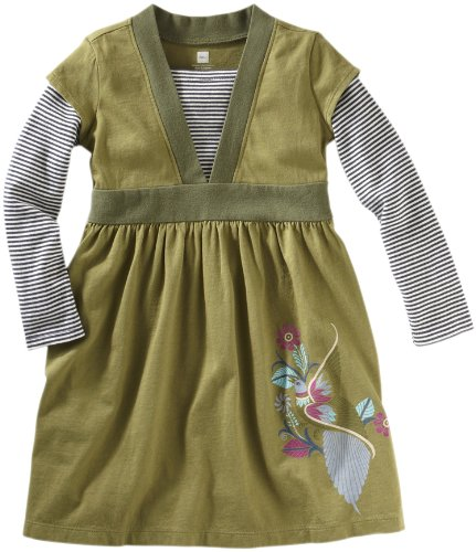 Tea Collection Girls 2-6x Amate Aves Wrap Dress