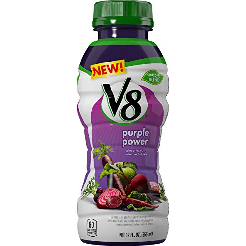 V8 Veggie Blend, Purple Power, 12 Ounce (Pack of 12) (Carrot Beet Juice compare prices)